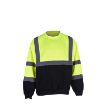 biocolor new design fleece safety sweatshirt