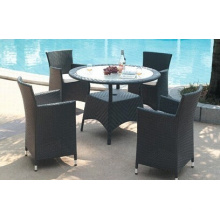 Modern Style Outdoor PE Rattan Furniture Set
