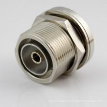 Conector RF L29 banhado a níquel com frequência de 0 ~ 7 GHz