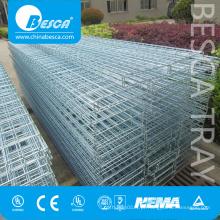 Bandeja de cabo galvanizada eletro do acessório da rede de arame do zinco do mergulho quente