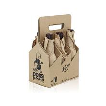 Embalagem de vinho / Caixa de vinho de couro Caixa de presente de cerveja