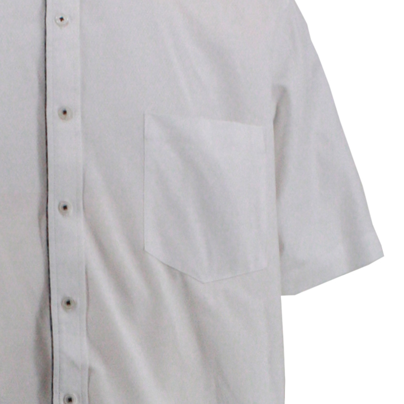 Pure white summer work clothes