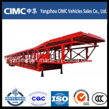 Cimc 3 Axle Car Transport Semi Truck Trailer Semi Trailer