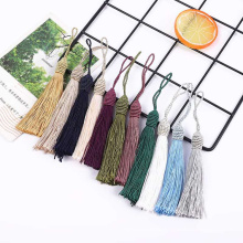 Silky Floss Bookmark Tassels with 2 Inch Cord Loop and Small Chinese Knot for Jewelry Making, Souvenir, Bookmarks, DIY Craft Acc