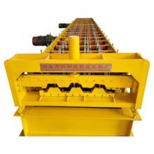 Máquina para fabricar baldosas de piso de chapa de acero