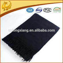 Wholesale Factory China Solid Color 100% foulards d'hiver en laine