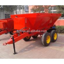 Esparcidor de fertilizante agrícola 1900-7500L para granjas grandes