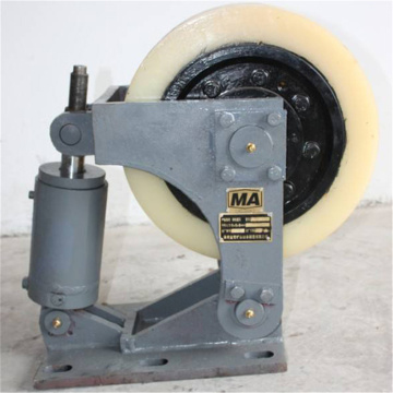 Mine Cage Wheel Roller Smooth Wheel Roller Buffer