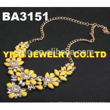 beautiful rhinestone necklace