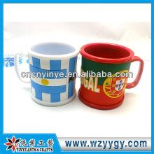 OEM pvc pen holder mug with multiple function
