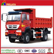Китайско HOWO с колесной формулой 4х2 мини-самосвал / самосвал грузовик света