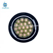 450 / 750V 2.5mm2 câble en acier de cuivre blindé de bande de contrôle