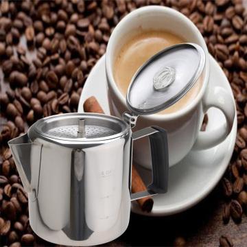 Acampamento de aço inoxidável cafeteira cafeteira cafeteira
