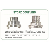 storz coupling with long tial or short tail