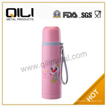 Doppelte Wand rosa Edelstahl Kugel Isolierflasche
