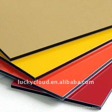 Panel compuesto de aluminio ACP, PE y PVDF