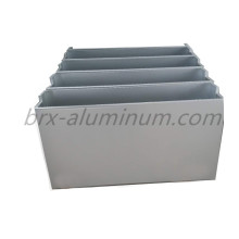 Anodized aluminum plate for decoration