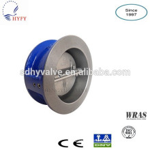 single/double plate/disc cast iron check valve 6 inch