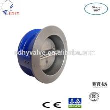 Одноместный/Двухместный плиты/диск литой железа проверить клапан 6 дюймов