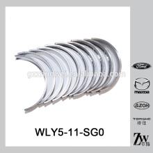 Buen rendimiento de auto cigüeñal del motor de rodamiento STD WLY5-11-SG0 para Mazda WL