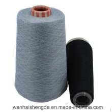 85% poliéster 15% hilo de tejer de algodón