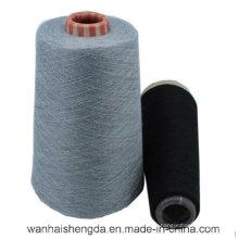 Fio de confecção de malhas do algodão do poliéster 15% de 85%