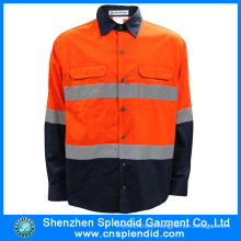 Wholesale High Quality His Vis Safety Work Shirt