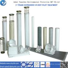 Bolsa de filtro no tejida del colector de polvo PTFE para la planta de asfalto de la mezcla