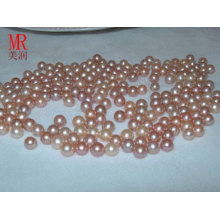 6-7mm perlas naranja perla de agua dulce