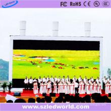 Exposição conduzida ao ar livre Full-Rental do diodo emissor de luz Full-color P10 feita-em-China (CE FCC)