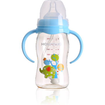8 oz PPSU Baby Nursing Bottle Com pescoço largo