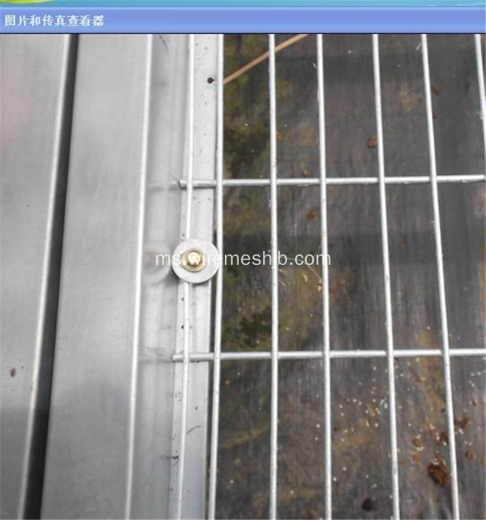 Beding Bed Mesh- Sheet Mesh Galvanized Welded