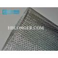 Malla de alambre galvanizado del hierro cuadrado