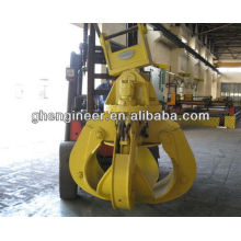 Excavator Hydraulic Orange Peel Grab for metal scrap hydraulic grab