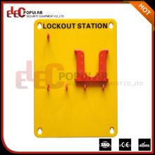 Elecpopular Marke Hochwertige tragbare gelbe organische Glass Security Lockout Stationen