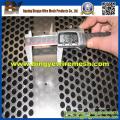 Red de perforación galvanizada utilizada en suelos de malta