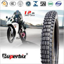 Motorcycle Tire and Tube (3.00-18) New Big Teeth Pattern