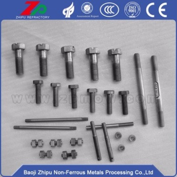 Tungsten screw bolts for fasteners