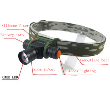 Camouflage 180 Lumens Mini AA/14500 CREE LED Headlamp