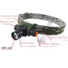 Camuflagem 180 Lumens Mini AA / 14500 CREE LED Farol
