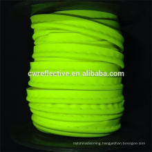 colorful EN471 stretch reflective piping cord for clothing