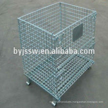 Collapsible Stainless Steel Wire Mesh Container
