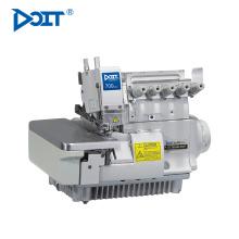 DT 700-6D-355 Direct drive 6 thread flat bed overlock máquina de costura industrial