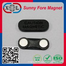 neodymium badge magnet China Factory