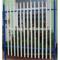 2016 Vedação revestida galvanizada e do palisade do PVC usada para o villadom (fábrica)
