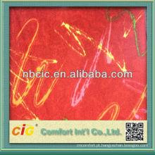 Tecido de poliéster para tampa de assento de carro na China