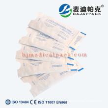 60gsm медицинская бумага Поли мешок стерилизации