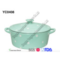 Ceramic Casserole with Lid for Wholesale