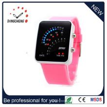 Сети 3G круглый экран Смарт-часы с беспроводной монитор сердечного ритма