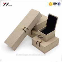 Boîte de bijoux en céramique de luxe de conception personnalisée de haute qualité d'emballage